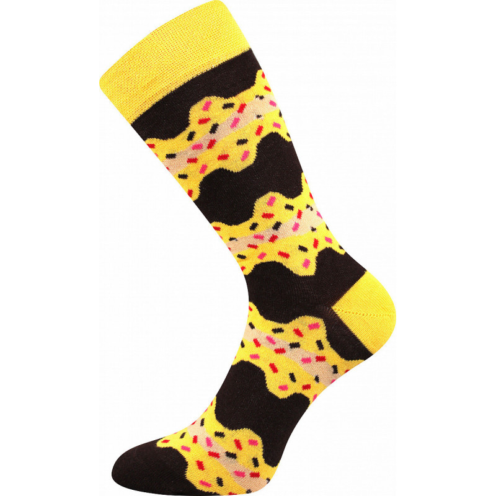 Barevné veselé ponožky...