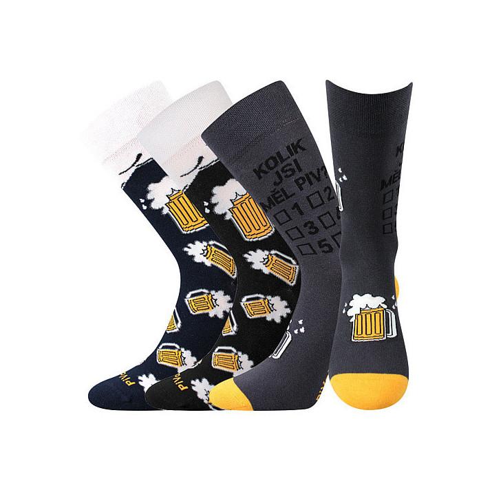 Ponožky PiVoXX mix 3 páry