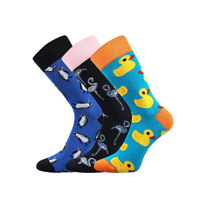 Barevné ponožky tučňáci,...