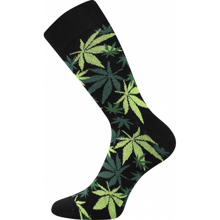 Ponožky barevné tráva 1 pár