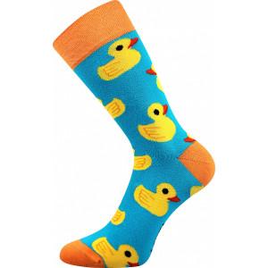 Ponožky barevné kačeny 1 pár