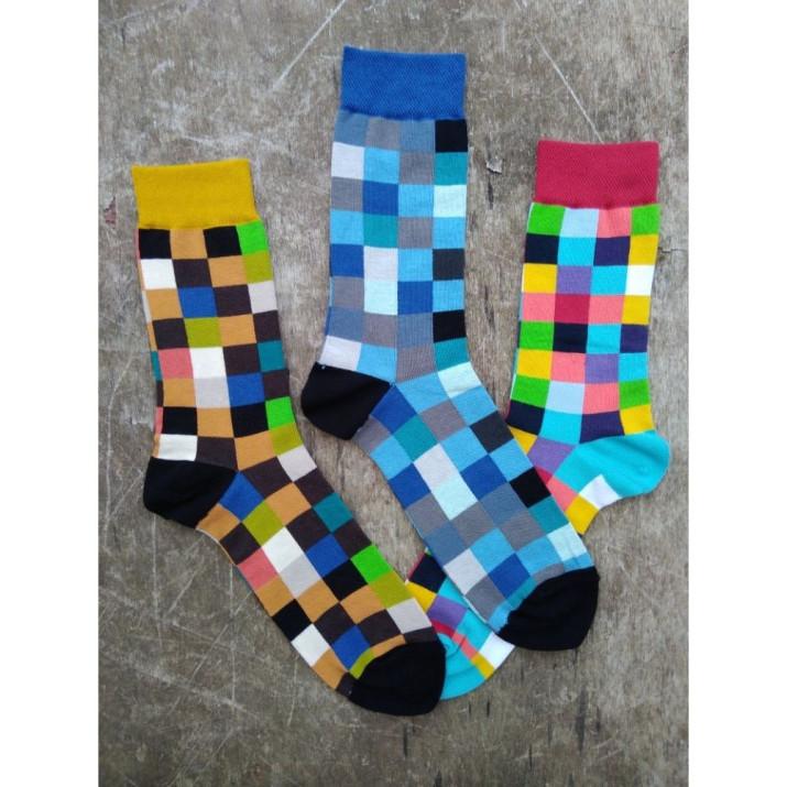 Barevné ponožky cool vzor...