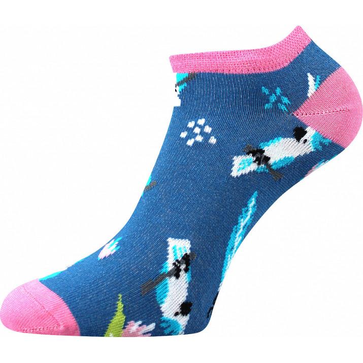 Barevné ponožky papoušci...