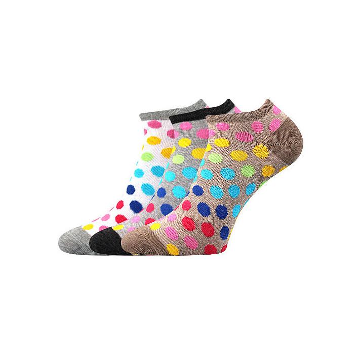 barevné ponožky puntíky B 3...