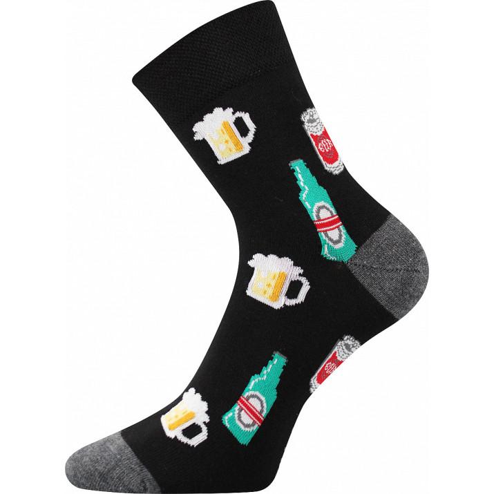 Ponožky barevné nápoj-lahve...