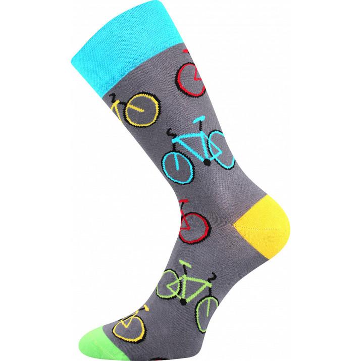 Barevné ponožky trendy bike