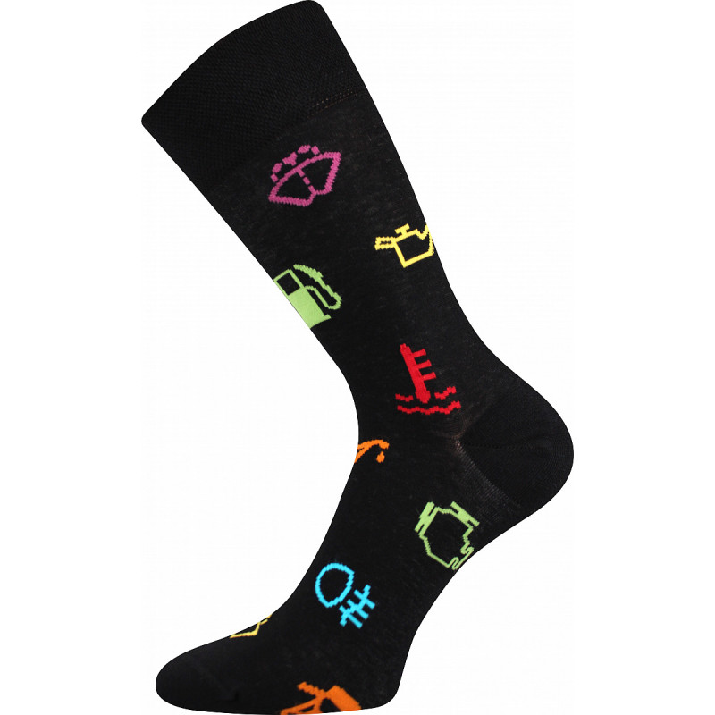 Barevné ponožky trendy signál