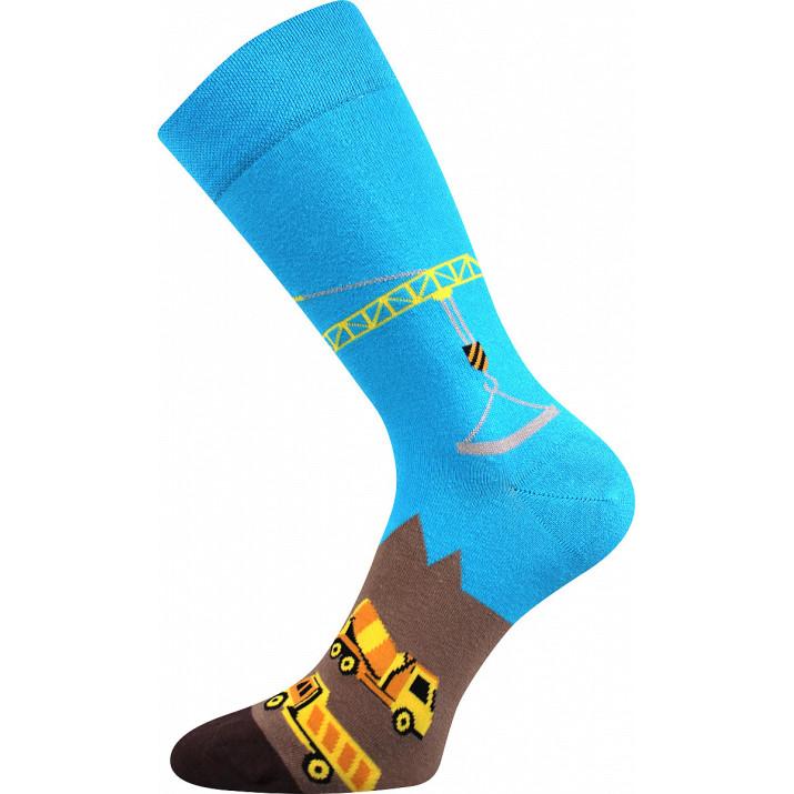 Barevné ponožky trendy stavba