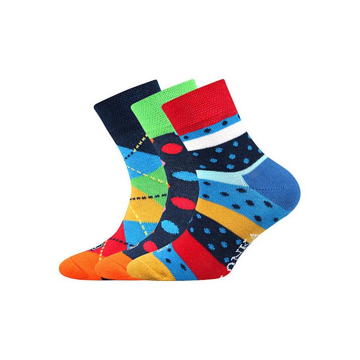 Ponožky Woodik mix A 3 páry