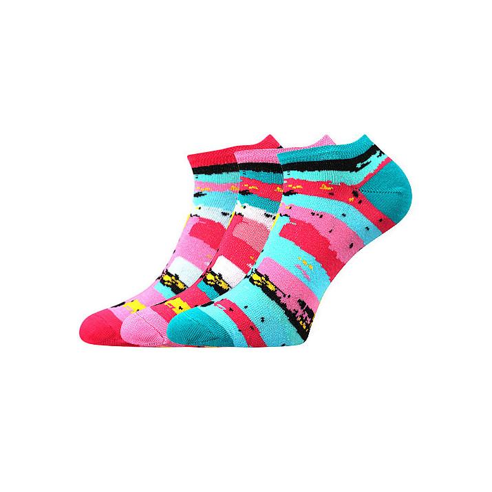 barevné ponožky grafika B 3...