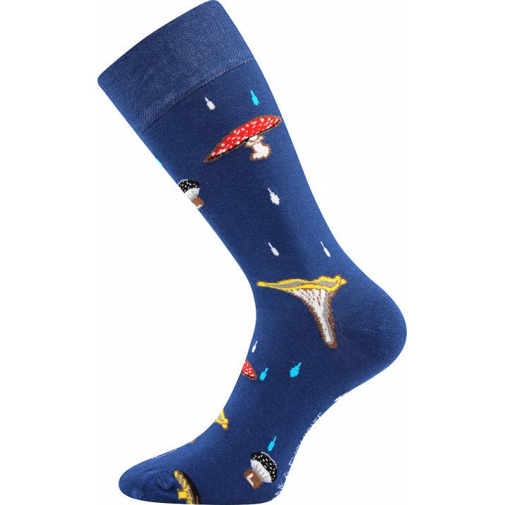Barevné ponožky trendy houby