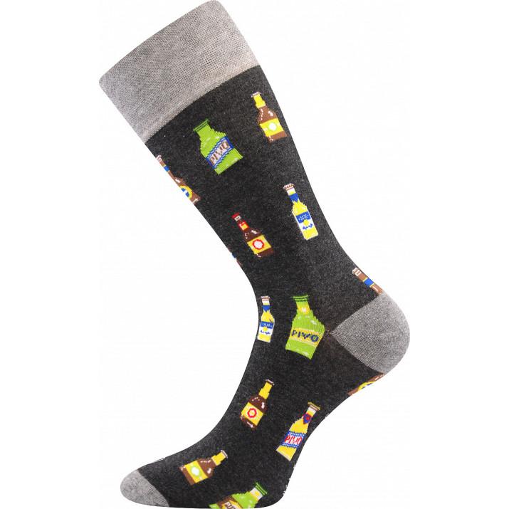 Barevné ponožky trendy pivo A