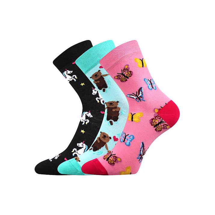 Ponožky dětské jednorožci,...