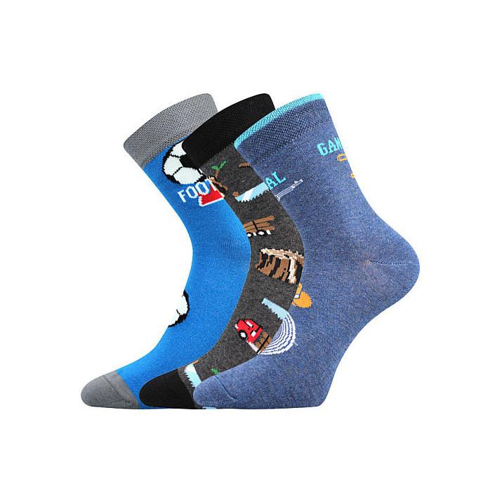Ponožky dětské fotbal,...