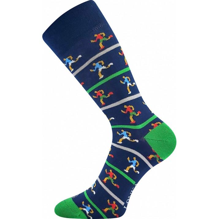 Barevné ponožky trendy běžci