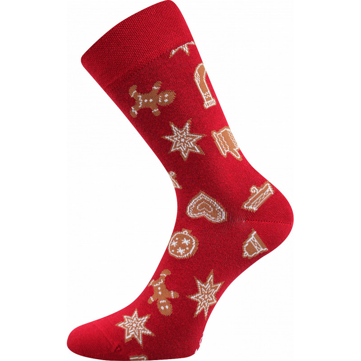 Barevné ponožky trendy perník