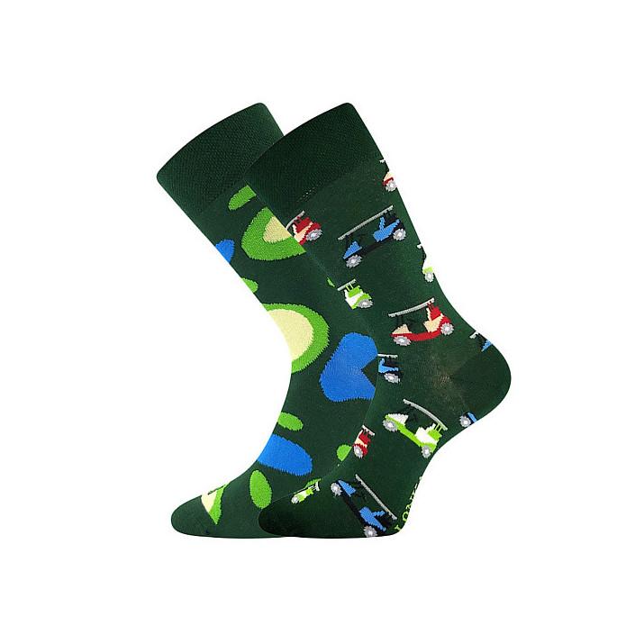 Barevné ponožky trendy Golf...