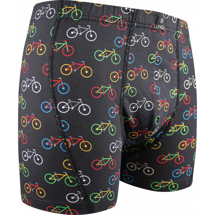 Boxerky Kevin bike/černá