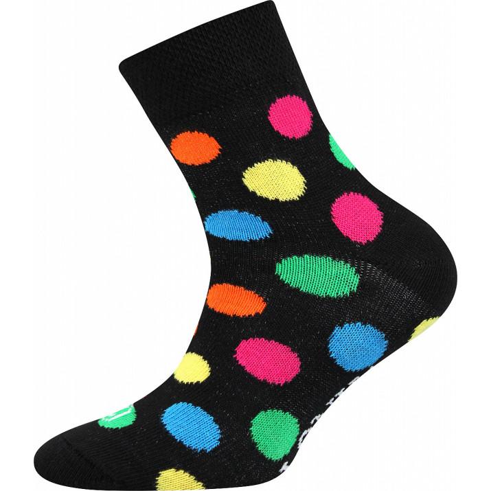 Ponožky Woodik puntík