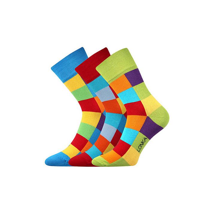Ponožky Decube kostka mix A...