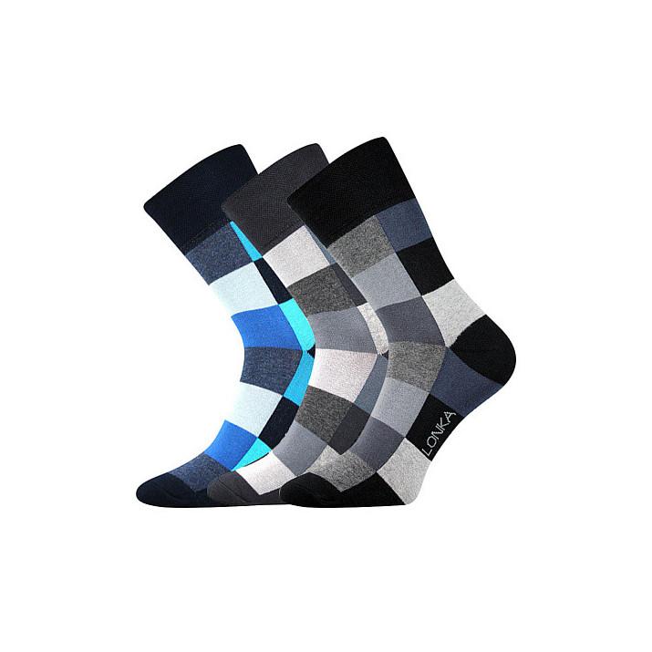 Ponožky Decube kostka mix B...