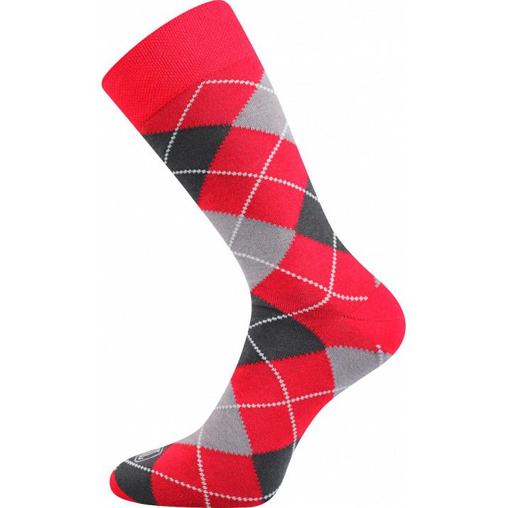 Barevné ponožky Wearel červené