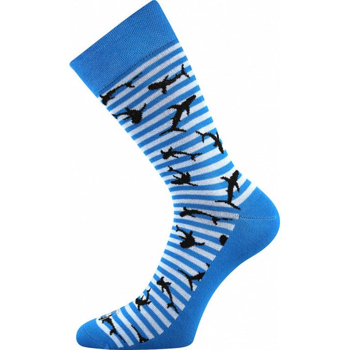 Ponožky Wearel žralok modré