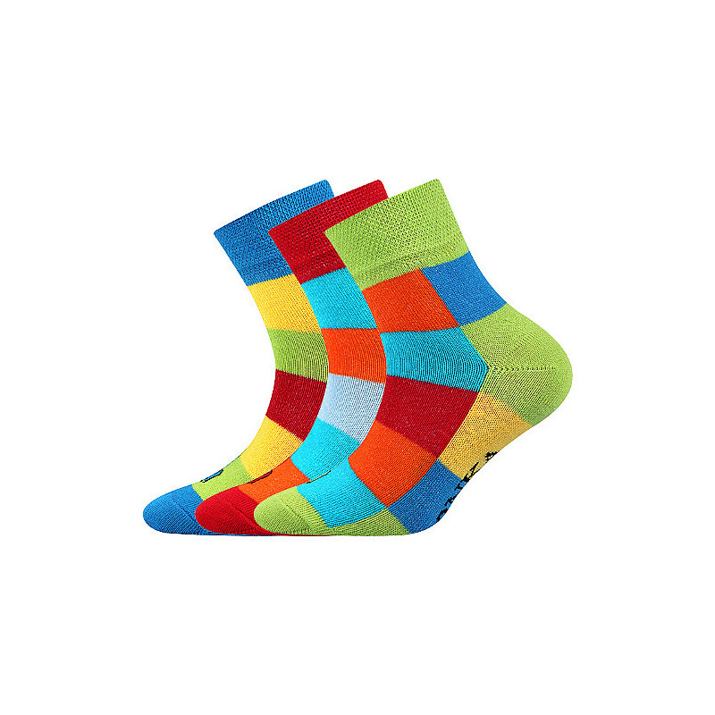 Ponožky Decubik kostka mix...