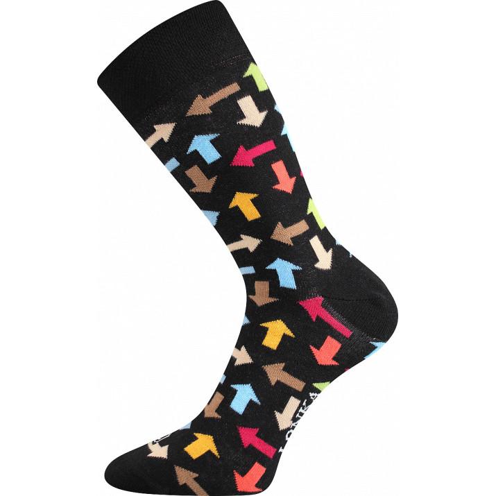 Barevné ponožky Woodoo R šipky
