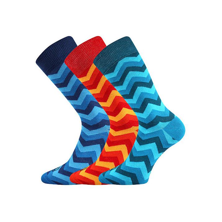Barevné ponožky Watt mix 3...