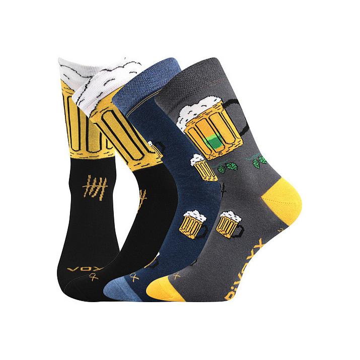 Ponožky PiVoXX 3 páry