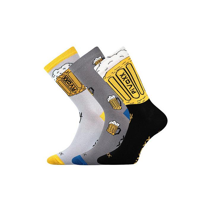 Ponožky PiVoXX 3 páry B