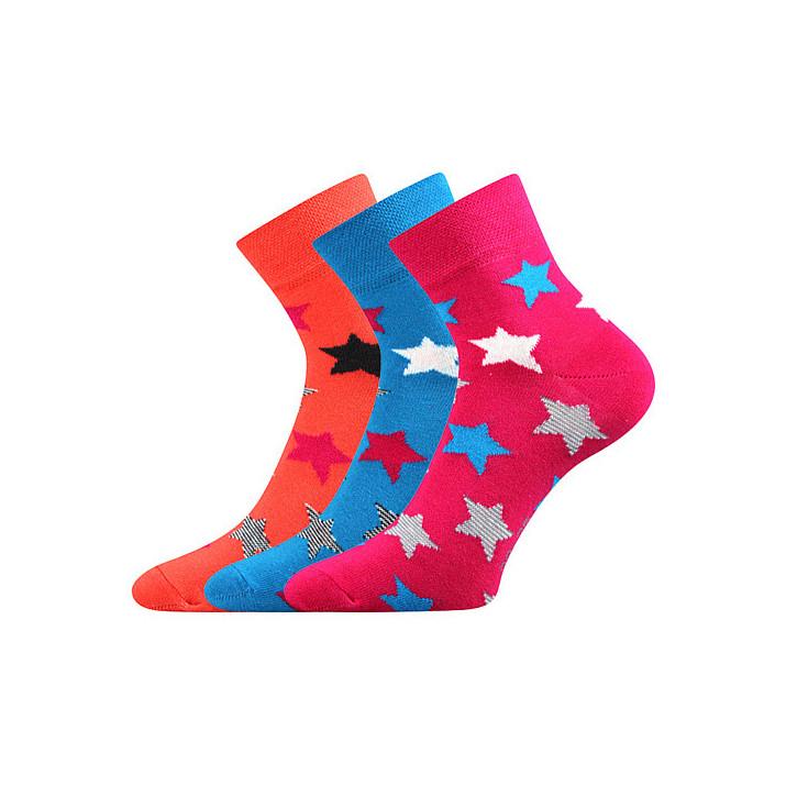 Barevné ponožky Jana 44 B 3...
