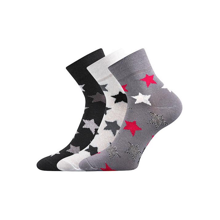Barevné ponožky Jana 44 A 3...