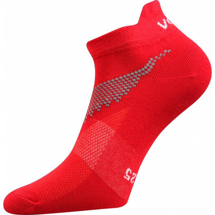 Barevné ponožky Iris červené
