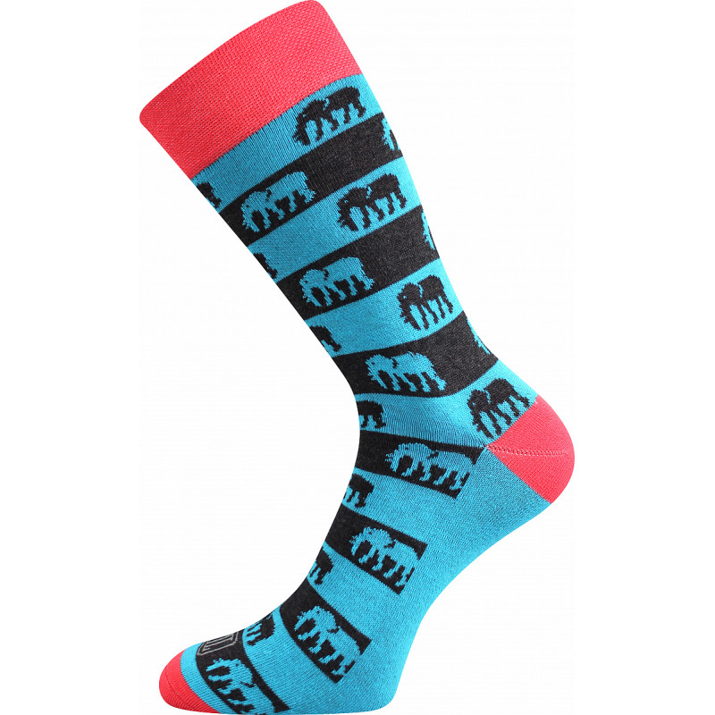 Barevné ponožky Wearel slon S1