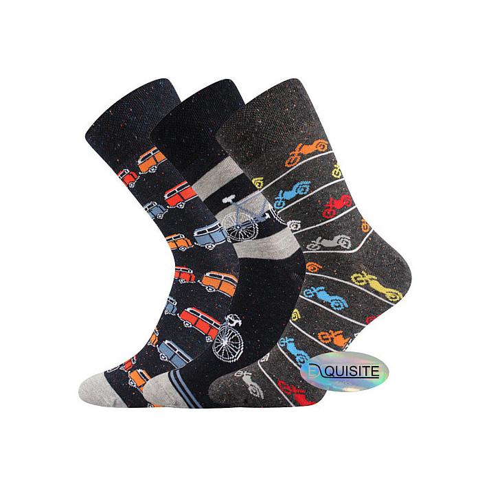 Barevné ponožky Harry A 3 páry