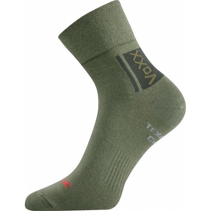 Ponožky Optifan zelená