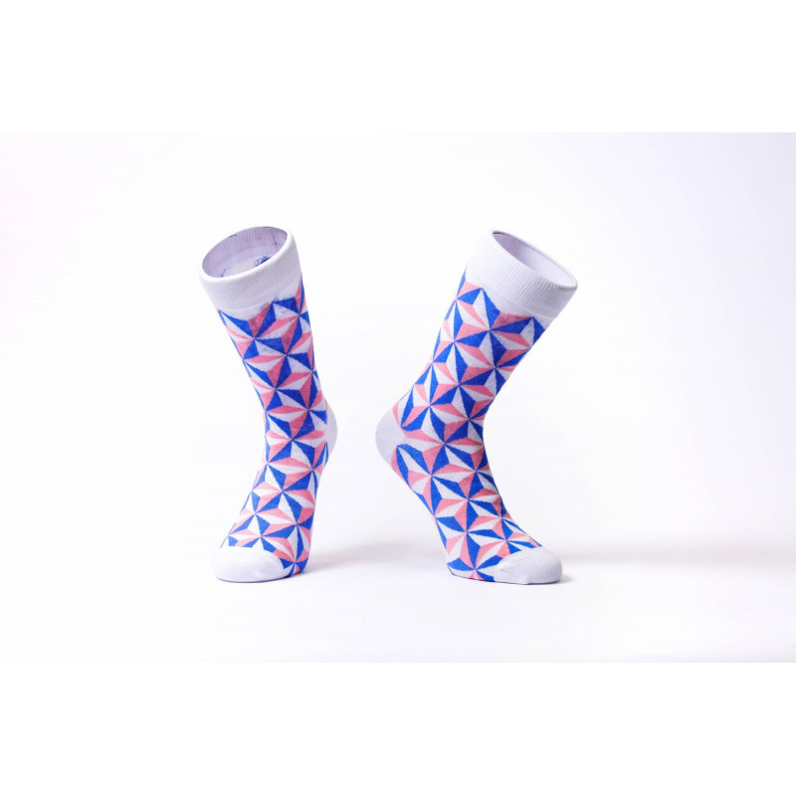 Barevné ponožky Soxit White...
