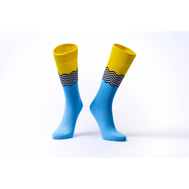 Barevné ponožky Soxit Waves...