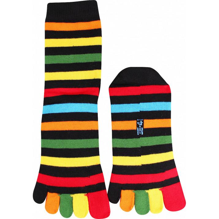 Barevné ponožky Prstan