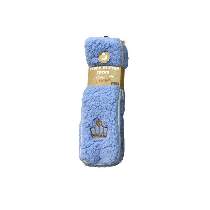 Ponožky na doma modré