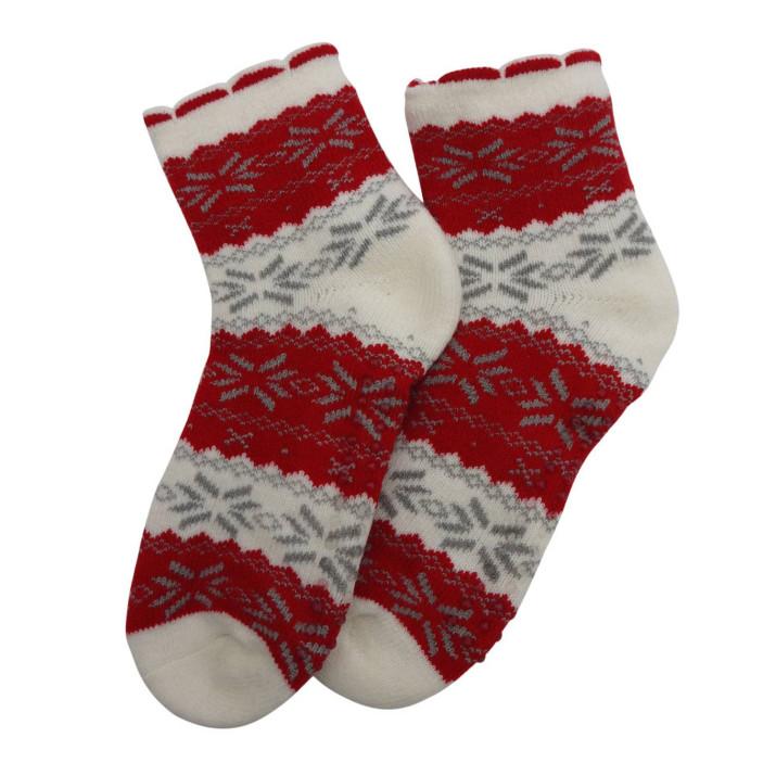 Ponožky na doma vločky