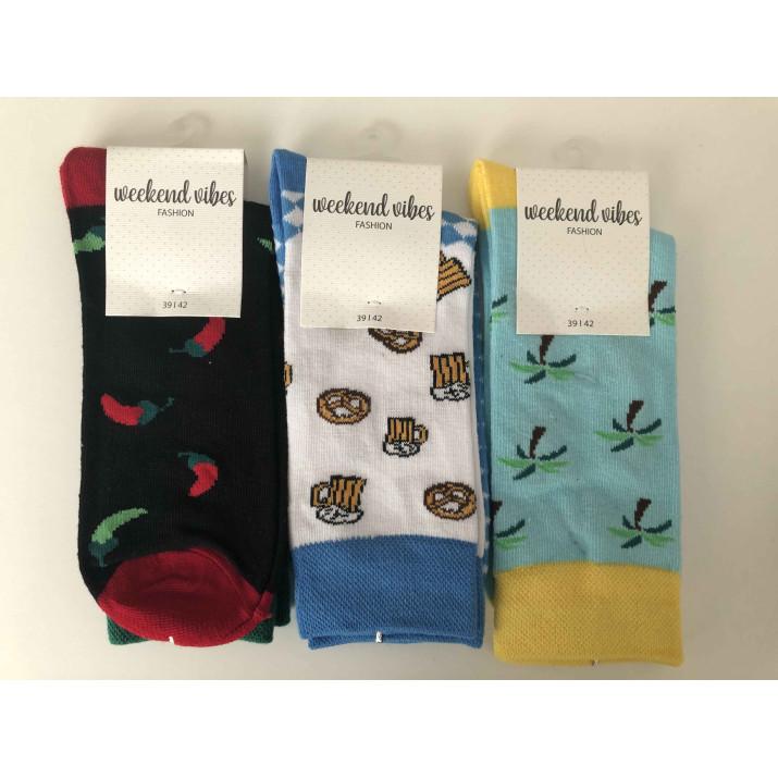 Barevné ponožky Wishes mix...